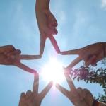 희망 우정 협동 내일 계획 소망