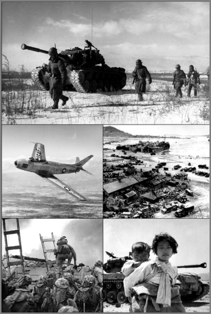 출처: Korean War Photos, United States federal government
