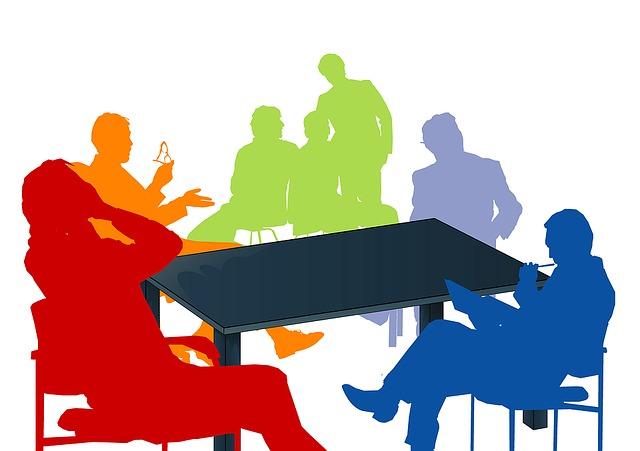 협력 일 비즈니스 회사 회의 논의