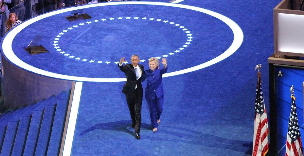 Sarah Burris, President Barack Obama Hillary Clinton_2, CC BY https://flic.kr/p/JCR5qY