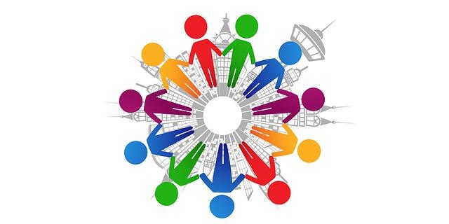 공동체 사람 화합 협동 협력