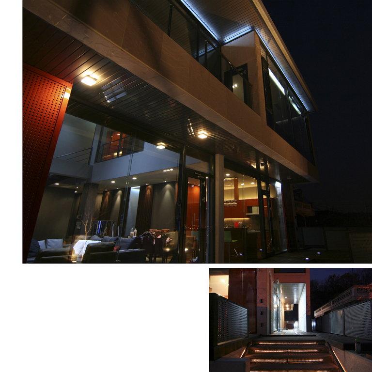 한국에서의 첫 작업 - Private Residence. Architecture & Interior design, Seoul, 2007 (사진 제공: 김현정)