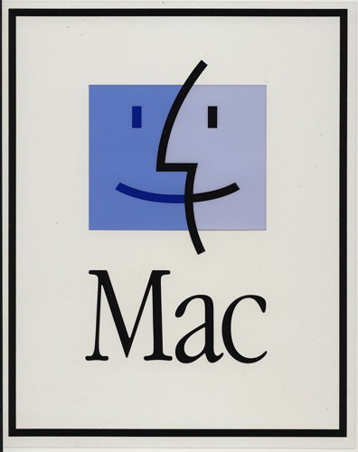 애플 맥 OS 로고