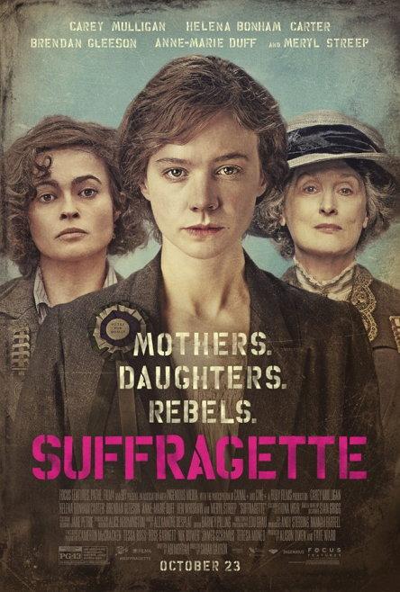 1912년 영국을 배경으로 여성 참정권 운동을 다룬 영화 '서프러제트' (2015, 사라 개브론)