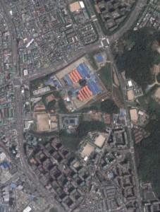안양교도소(구글 위성사진)