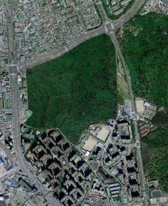 안양교도소(네이버 위성사진)