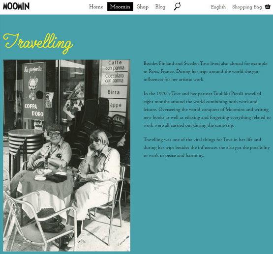 토베 얀손(왼쪽)과 툴리키 피에틸라(오른쪽) (출처: moomin.com) https://www.moomin.com/en/tove-jansson/