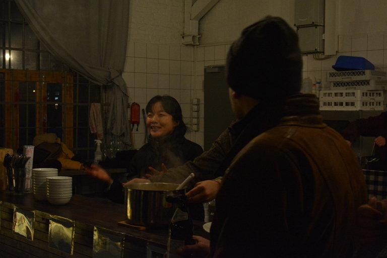 최근 베를린에서 진행했던 [밥 먹고 가세요] 프로젝트 현장 사진 (사진 제공: 박혜민)