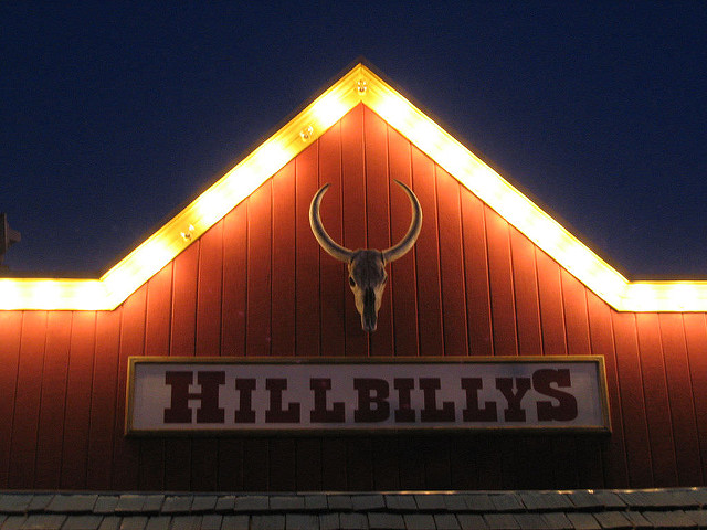 Benjamin Hollis, Hillbillys, CC BY https://flic.kr/p/3u7LL