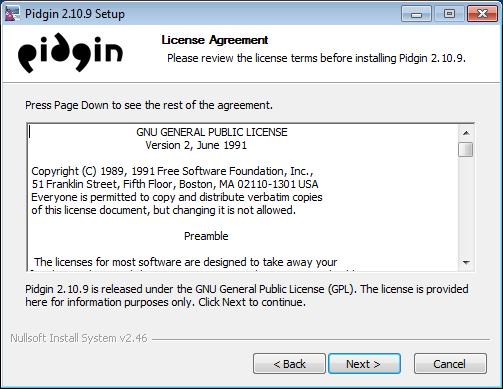 보안 메신저 OTR + Pidgin #6