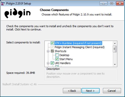 보안 메신저 OTR + Pidgin #7