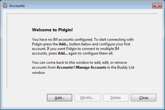 보안 메신저 OTR + Pidgin #16