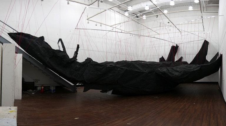 2014년 쿤스트독 갤러리(KunstDoc Gallery) 개인전에서 선보인 작품 (사진제공: 서해근)