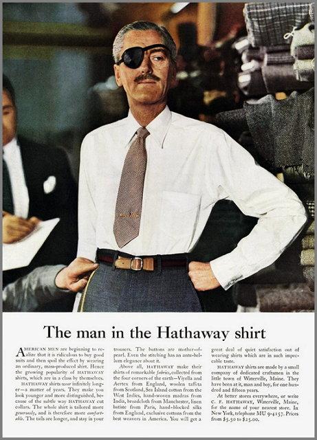 오길비 해더웨이 셔츠
