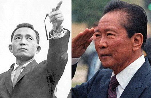 박정희의 독재는 최측근 김재규의 암살로 끝났고, 마르코스의 독재는 '피플 파워 혁명'으로 막을 내렸다.