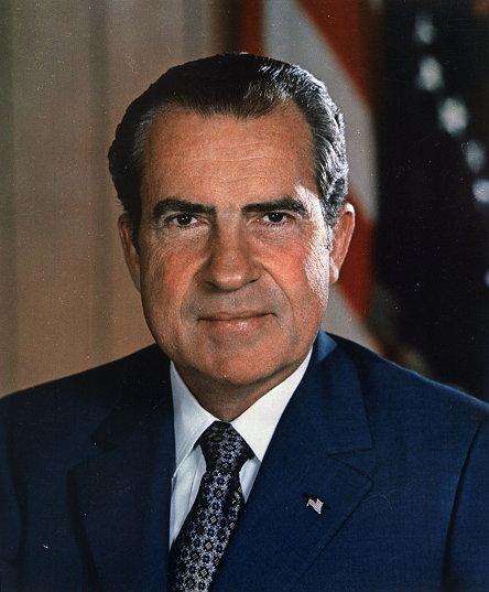 미국의 37대 대통령 리처드 밀허스 닉슨(Richard Milhous Nixon, 1913년 1월 9일 ~ 1994년 4월 22일)