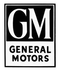 GM 초기 로고 (1920년대)