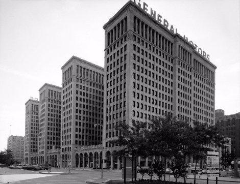 1920년대 GM 본사