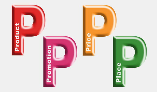 4Ps (위키피디어 공용, CC BY SA 3.0) https://en.wikipedia.org/wiki/E._Jerome_McCarthy#/media/File:4Ps.jpg
