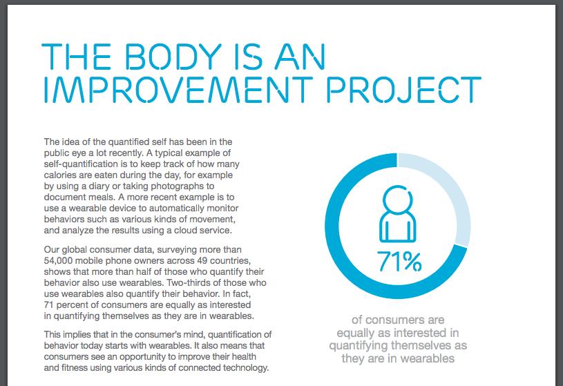 모바일 폰 이용자 71%가 건강 기록에 관심이 있다