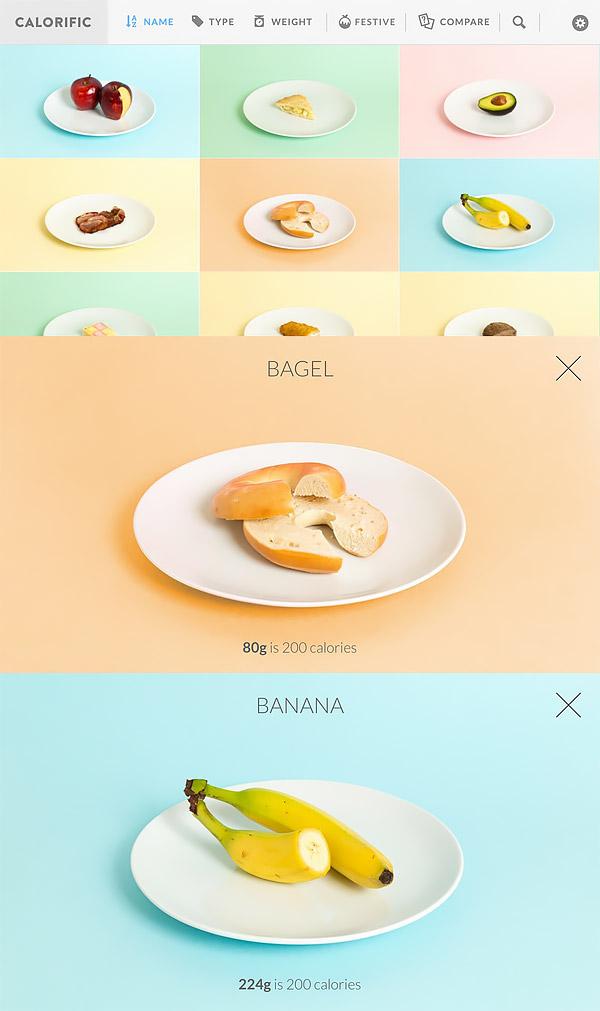 칼로리픽을 이용한 음식물 칼로리 확인