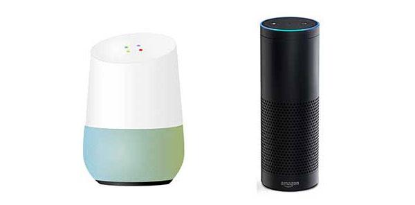 구글 홈과 아마존 에코(알렉사)
