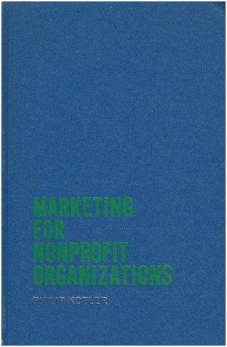 필립 코틀러, [비영리단체를 위한 마케팅] (1975)