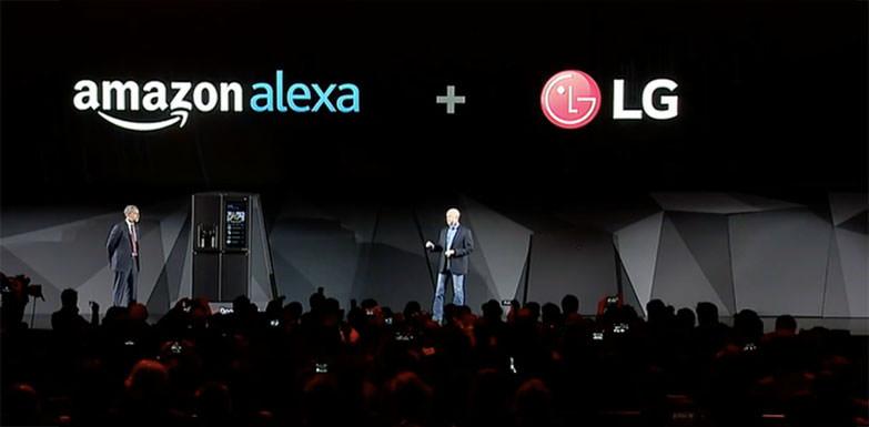 LG전자 냉장고 속으로 들어간 알렉사