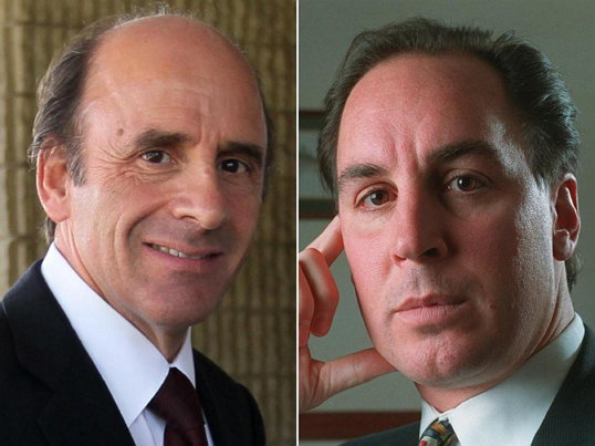 Arthur T. Demoulas (left) and Arthur S. Demoulas. (출처: bostonglobe.com) https://www.bostonglobe.com/business/2016/05/27/the-demoulas-cousins-are-back-new-lawsuit-emerges-market-basket-saga/3wyW7gxQDPJQGc9h1fPG1O/story.html