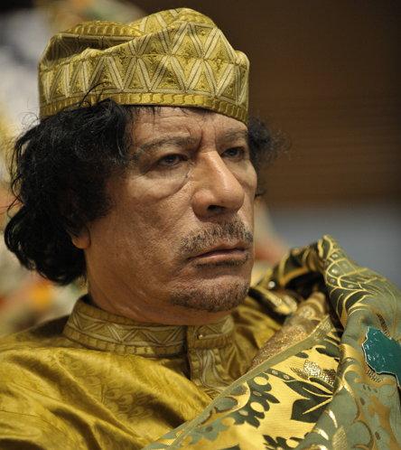 무아마르 알 카다피 (1942년 6월 7일 ~ 2011년 10월 20일)