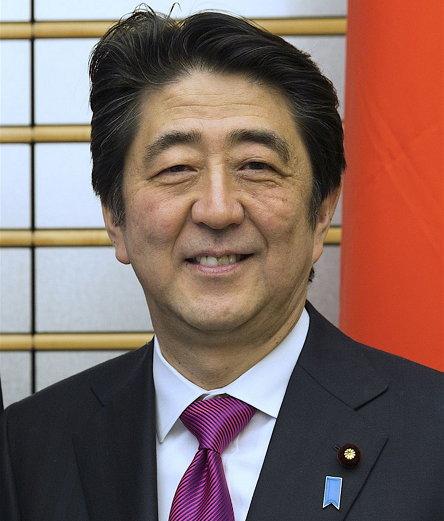 제90대·96대·97대 일본의 내각총리대신이자 제21대 자유민주당 총재 아베 신조 (1954년 9월 21일 ~ )