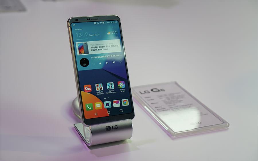 LG전자의 신규 스마트폰 G6