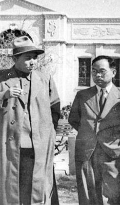 1948년 해주에서 김일성과 박헌영