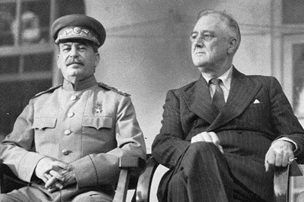 스탈린과 루즈벨트