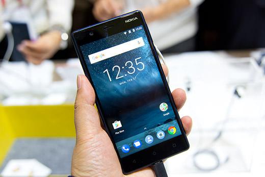 HMD글로벌이 공개한 15만 원 스마트폰 노키아 3