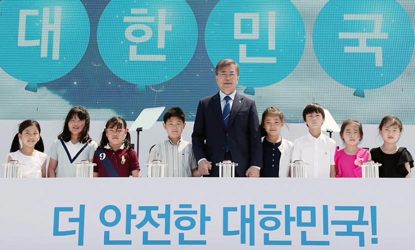 문재인 고리1호기 영구정지 선포식 (출처: 청와대)