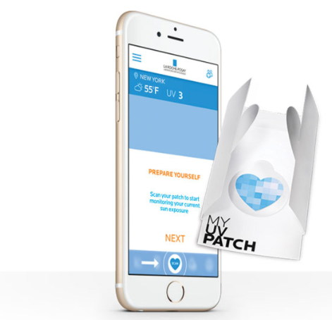 'MY UV PATCH' http://www.laroche-posay.us/my-uv-patch