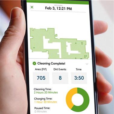'룸바'를 비롯한 로봇청소기는 가정 내를 마음껏 돌아다니면서 집안 지도 격인 데이터를 수집할 수 있다.