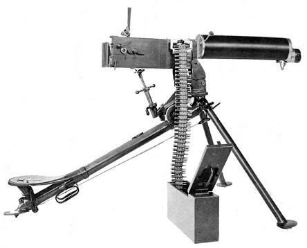 세계의 역사를 바꾼 '맥심' 기관총 (Maxim gun, 1883)