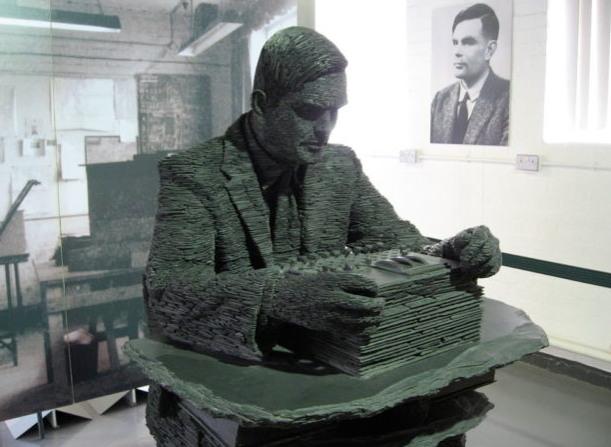 컴퓨터 과학의 아버지 앨런 튜링 (출처: 앨런 튜링 연구소) https://www.turing.ac.uk