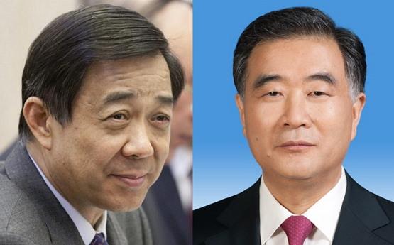 '신좌파' 보시라이 vs. '신우파' 왕양