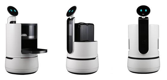 LG의 세 가지 콘셉트 로봇