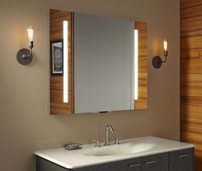 콜러의 알렉사 연동 욕실 거울