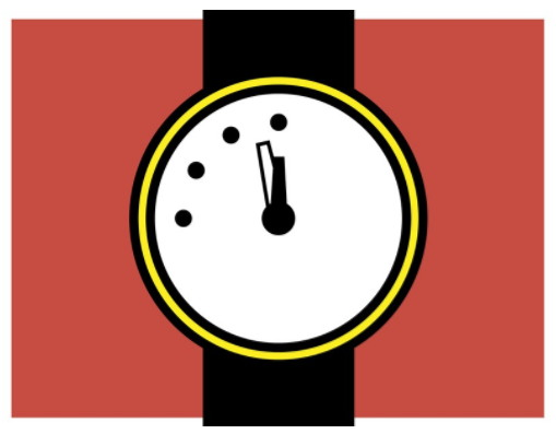 그 어느 때보다 자정(핵 전쟁)에 임박한 둠스데이 시계.