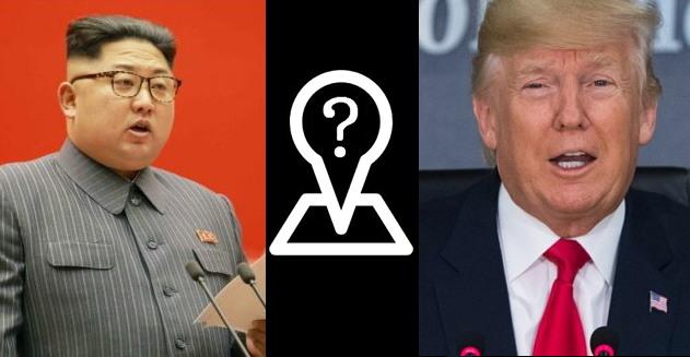 김정은과 트럼프. 트럼프는 전격적으로 그리고 일방적으로 정상회담을 취소했다.