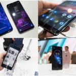 MWC 2018에서 공개된 스마트폰들
