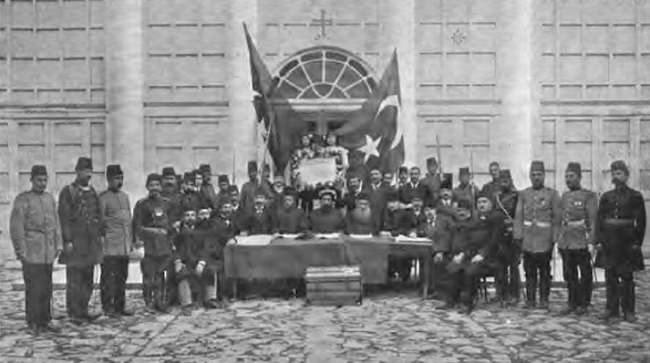 청년 튀르크 혁명 선언 (1908)