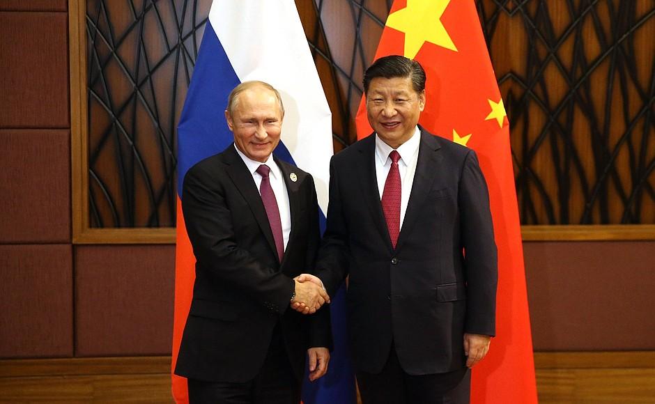 21세기 차르 푸틴과 21세기 황제 시진핑 (출처: 러시아 대통령실) http://en.kremlin.ru/events/president/news/56046