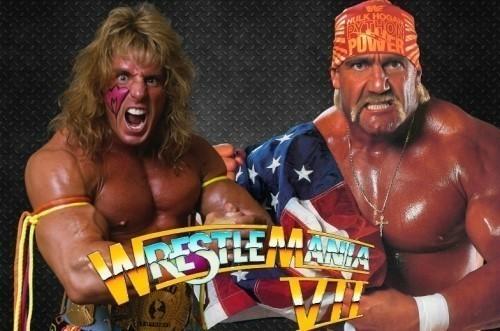 '왕년'의 WWF를 상징하는 두 레슬러, 얼티밋 워리어와 헐크 호간