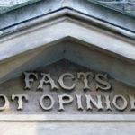 팩트 사실 의견
